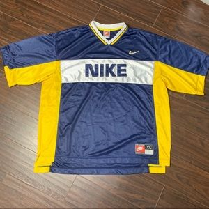 Vintage 90s Nike Team Sports Logo Jersey Shirt XL